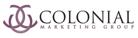 Colonial Marketing Group full logo